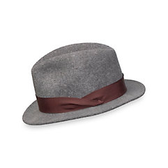 Men's Vintage Style Hats Wool Fedora $70.00 AT vintagedancer.com