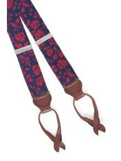 Botanical Silk Suspenders