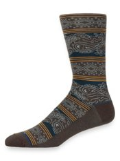 Peruvian Pima Cotton Blend Stripe Socks