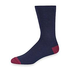 1920s-1950s New Vintage Men's Socks Peruvian Pima Cotton Pindot Socks $10.00 AT vintagedancer.com