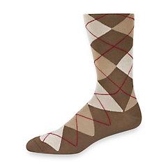 1920s-1950s New Vintage Men's Socks Peruvian Pima Cotton Argyle Socks $10.00 AT vintagedancer.com