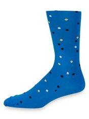 Peruvian Pima Cotton Blend Dot Socks