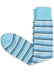 Pima Cotton Blend Stripe Sock