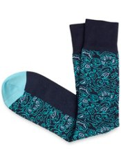 Pima Cotton Blend Botanical Sock