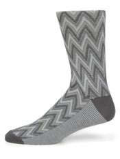 Peruvian Pima Cotton Blend Zig Zag Socks