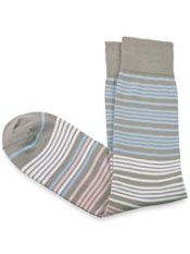 Pima Cotton Stripe Sock