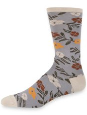 Peruvian Pima Cotton Blend Botanical Socks