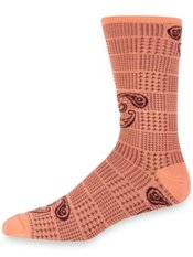 Peruvian Pima Cotton Blend Paisley & Plaid Socks