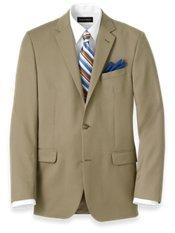 100% Wool Two-Button Travel Blazer