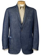 Men's Chambray Soft Coat