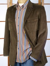 Cotton Corduroy Two-Button Sport Coat