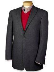 Two-Button Fineline Stripe Sportcoat