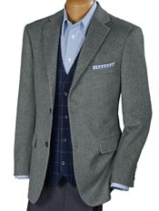 100% Camel Hair Two-Button Notch Lapel Sport Coat
