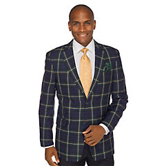 1960s Style Mens Suits- Skinny Suits, Mod Suits, Sport Coats Green Tartan Pure Wool Sport Coat $103.00 AT vintagedancer.com