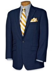 Wool Blend One-Button Sportcoat