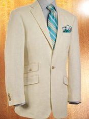 Italian Linen One-Button Sport Coat