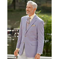 Men's Vintage Style Suits, Classic Suits Lavender Windowpane Wool  Silk Sport Coat $290.00 AT vintagedancer.com