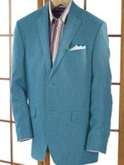Linen Two-Button Soft Sport Coat