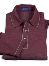 Cotton Blend Polo