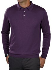 Silk, Cotton, & Cashmere Polo Collar Sweater