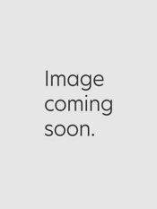 Silk Grid Pattern Fine Gauge Short Sleeve Mock Neck Sweater