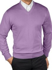 Pima Cotton V-Neck Sweater