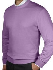 Pima Cotton Crew Neck Sweater