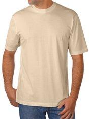Cotton & Silk Short Sleeve Crewneck T-Shirt