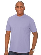 Cotton & Silk Short Sleeve Crewneck T-Shirt