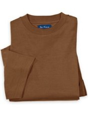Silk & Cotton Crewneck T-shirt