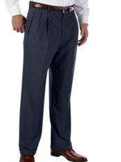 Italian Premium Wool Pleated Front Pants