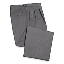 Cotton Twill Pleated D-Ring Pants