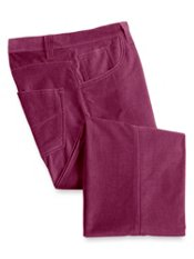 Cotton Velvet Five-Pocket Pants