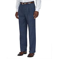 Pure Wool Twill Pleated Pants $50.00 AT vintagedancer.com