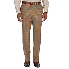 Pure Wool Flannel Flat Front Pants $100.00 AT vintagedancer.com