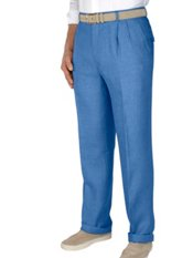 100% Linen Pleated Pants
