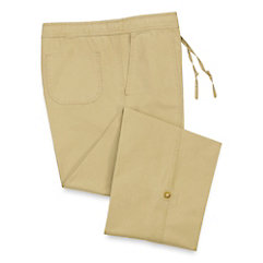 Cotton Drawstring Pants
