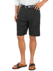 100% Microfiber Pleated Shorts