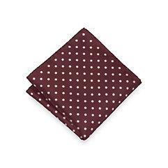 Historyof1920sMensTiesNecktiesBowties Italian Silk Dots Silk Pocket Square $15.00 AT vintagedancer.com