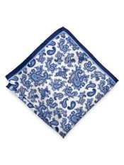 Paisley Silk Pocket Square