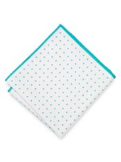 Dot Motif Cotton Pocket Square