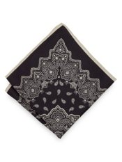 Italian Bandana Printed Silk Pocket Square