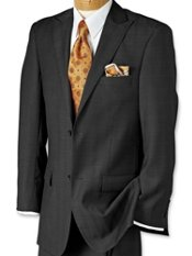 Performance 100% Wrinkle & Stain Resistant Wool Suit