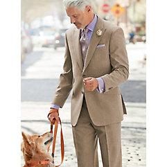 Camel Donegal Pure Wool Suit $340.00 AT vintagedancer.com