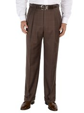 100% Wool Pleated Suit Separate Pant