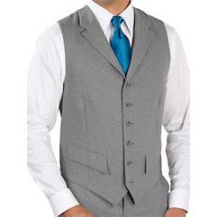 Men's Vintage Inspired Vests 100 Wool Six-Button Notch Lapel Suit Separate Vest $30.00 AT vintagedancer.com
