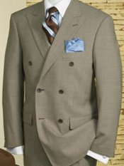 Houndstooth Double-Breasted Suit