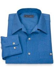 100% Linen Camp Collar Sport Shirt