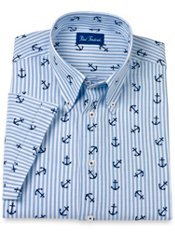 Men's Cotton & Linen Sport Shirt
