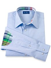 Cotton Straight Collar Sport Shirt